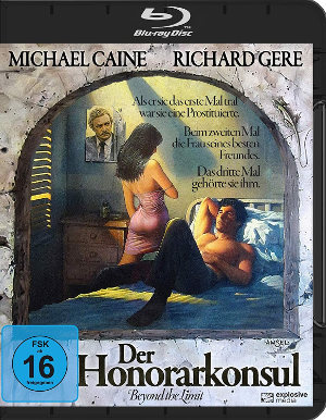 Der Honorarkonsul - BluRay-Cover | Thriller, Romanze