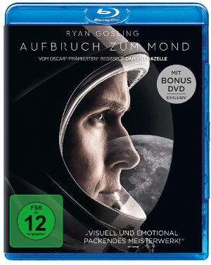 Aufbruch zum Mond - Blu-Ray Cover | mit Ryan Gosling