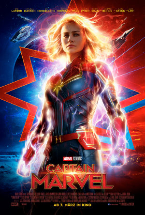 Captain Marvel - Poster | Science Fiction Comic Film