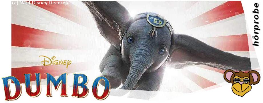 Dumbo_hörprobe | Soundtrack zu Tim Burtons Märchen von Walt Disney