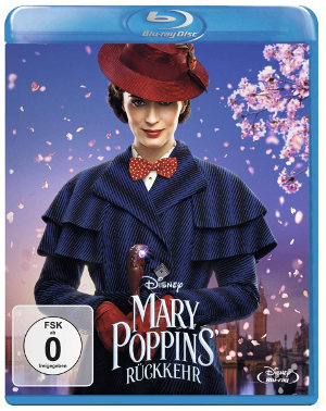Mary Poppins Rückkehr - BluRay-Cover | Jetzt im Handel
