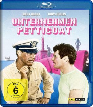 Unternehmen Petticoat - BluRay-Cover | Komödie mit Tony Curits und Cary Grand