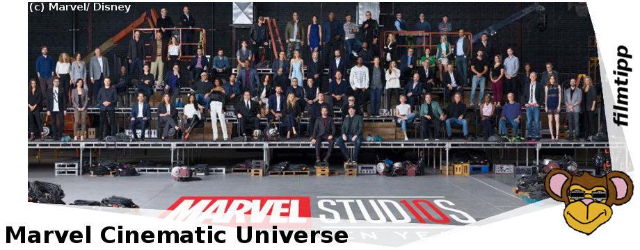 Marvel Cinematic Universe - Gruppenfoto zehn Jahre MCU
