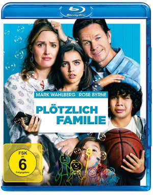 Plötzlich Familie - BluRay-Cover   Komödie von Sean Anders