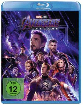 Avengers Endgame - Blu-Ray-Cover