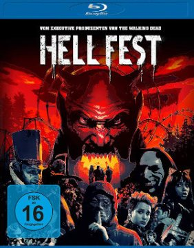 Hell Fest - BluRay-Cover | Horror