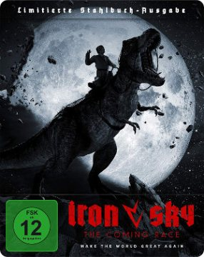 Iron Sky - The Coming Race - BluRay-Cover | Actionfilm