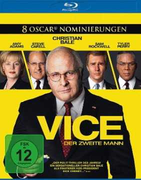 Vice - Der Zweite Mann - BluRay-Cover | Satire