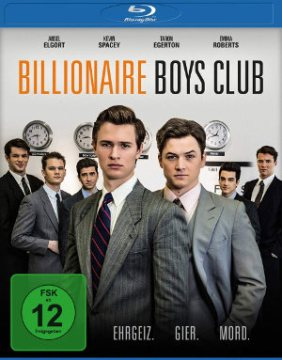 Billionaire Boys Club - BluRay-Cover | Kritik