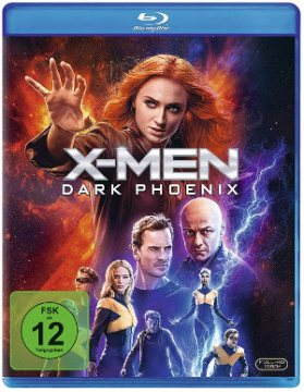 X-Men Dark Phoenix - BlurRay-Cover | Filmkritik