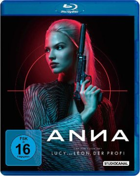 Anna - BluRay-Cover | Filmkritik Luc Besson