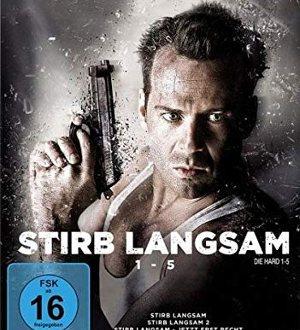Stirb langsam - BluRay-Cover | Weihnachtsfilm