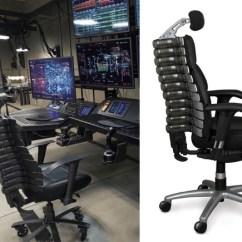 Anthro Ergonomic Verte Chair Wedding Cover Hire Fife Batman S Desk In V Superman Film And Furniture Spine