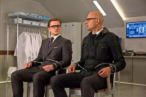 The film set of Kingsman The Golden Circle saved by Keith