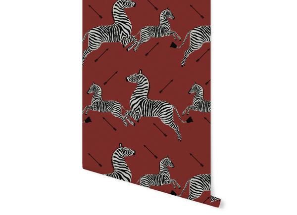 scalamandre zebra cushion pillow