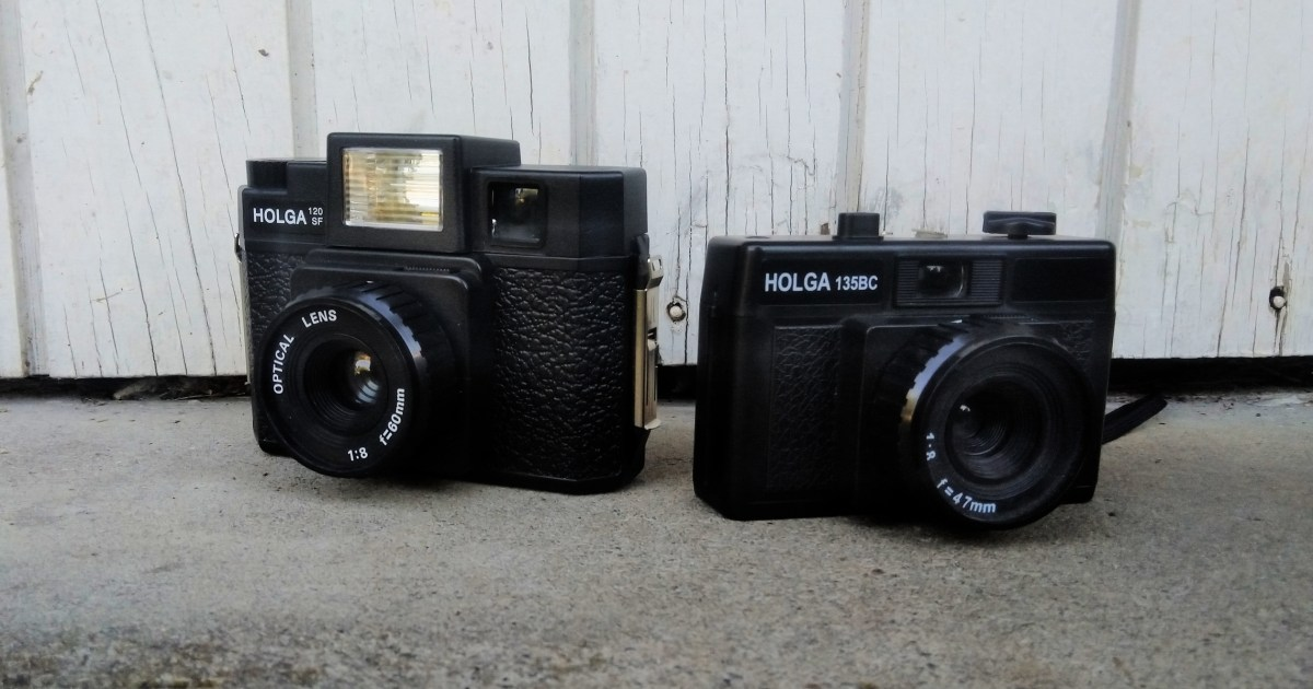 The Holga 120SF and Holga 135BC