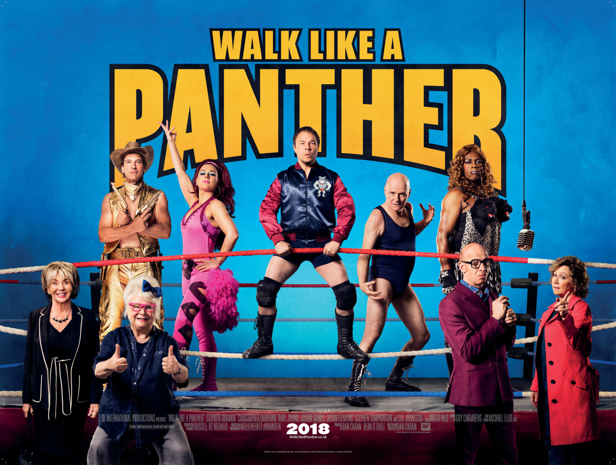 Walk Like A Panther  New Trailer & Release Date Revealed