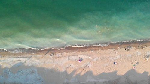 Filmare aeriana cu drona Marea Neagra