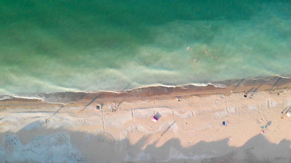 Marea Neagra, filmare drona