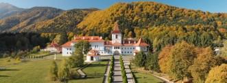 Manastirea Brancoveanu - Sambata de Sus - Filmare cu drona