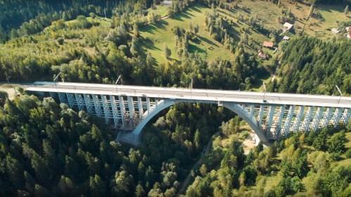 Filmare drona - Reabilitare Viaduct Caracau - Huennebeck