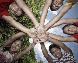 Claro Stock Bank Niños selva fotografía fija