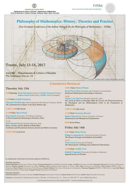 small resolution of philosophy of mathematics history theories and practice