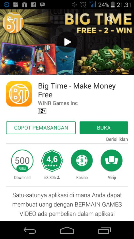 Game Menghasilkan Uang Dengan Cepat