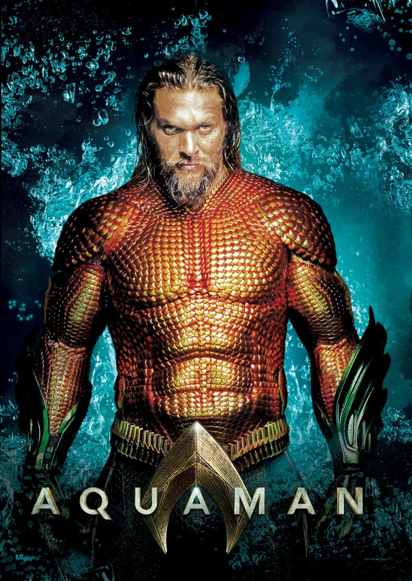 Aquaman King Of Atlantis Mightyprint Wall Art Mp17240459