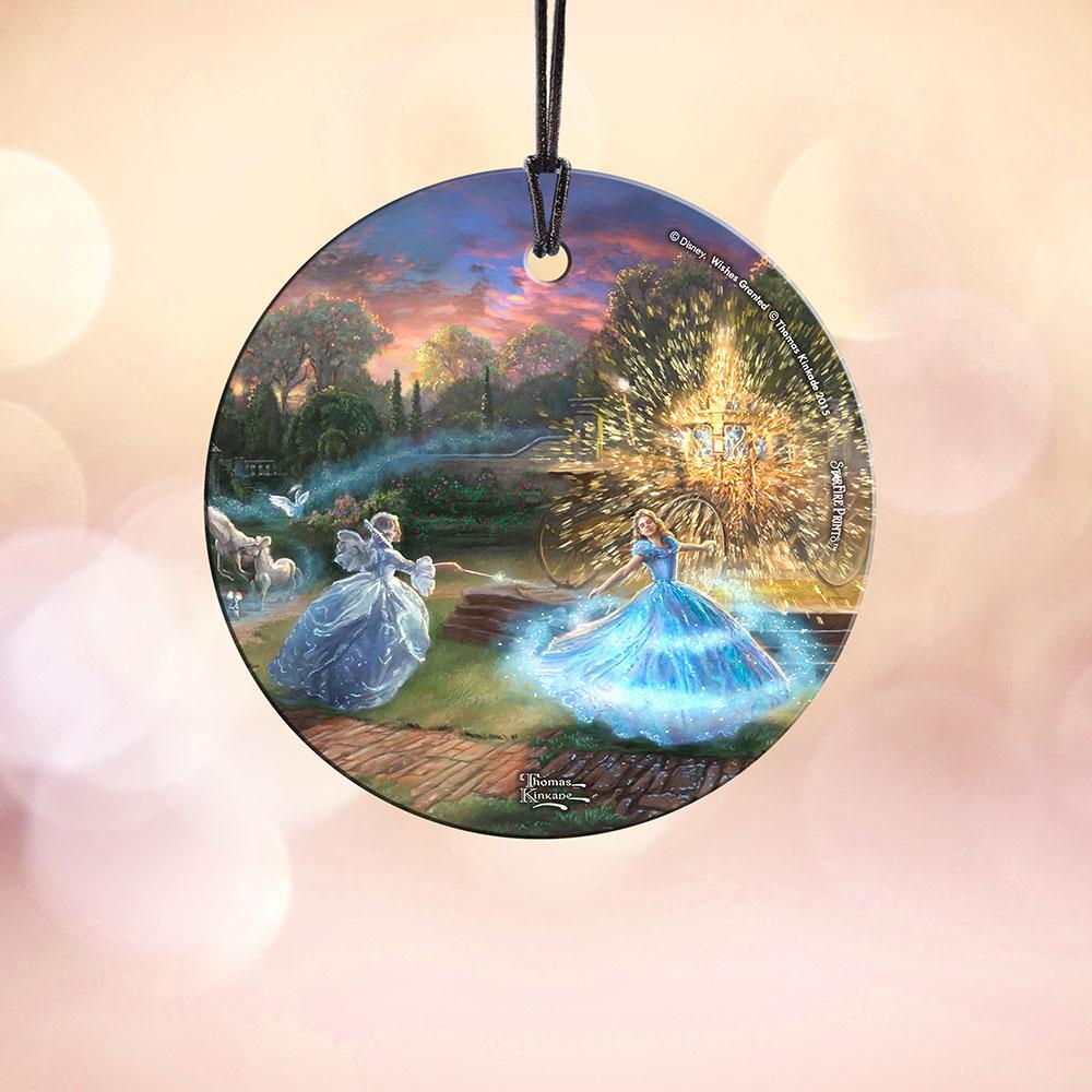 Disneys Cinderella Wishes Granted StarFire Prints Hanging Glass SPCIR533
