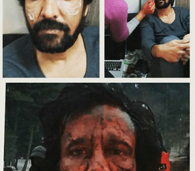KK Menon's prosthetics makeup in Haider