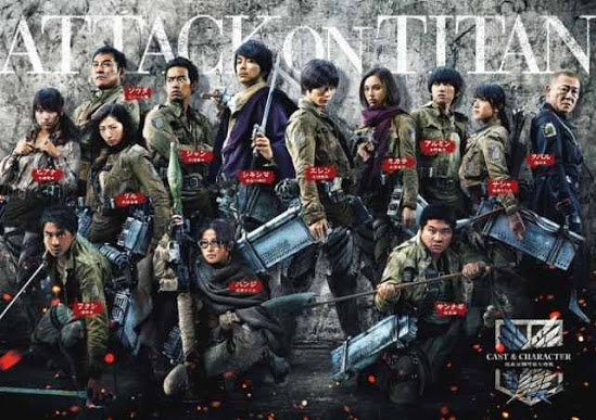Live-Action ATTACK ON TITAN Movies Get A New Trailer And