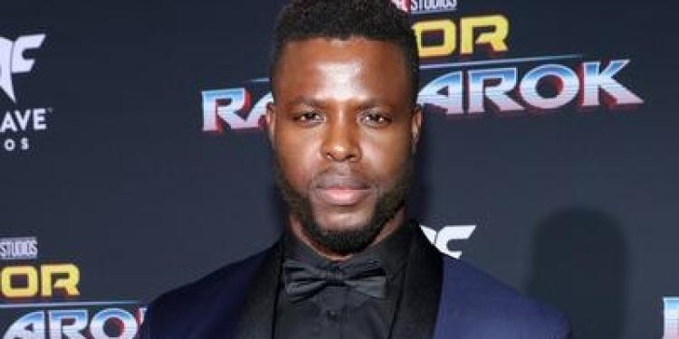"HEROINE cast: Actor Winston Duke at The World Premiere of Marvel Studios' ""Thor: Ragnarok"" at the El Capitan Theatre on October 10, 2017 in Hollywood, California. - The World Premiere of Marvel Studios' 'Thor: Ragnarok' (Oct. 9, 2017 - Source: Rich Polk/Getty Images North America)"