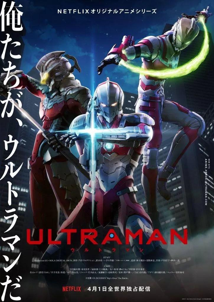 ULTRAMAN Lands An Official Trailer For Its April Netflix Premiere