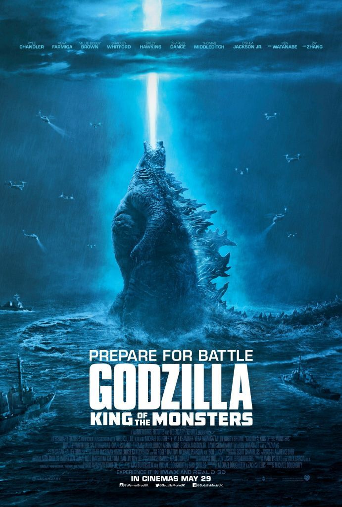 Watch My Friends Nerd The F*ck Out Over The Final GODZILLA: KING OF THE MONSTERS Trailer