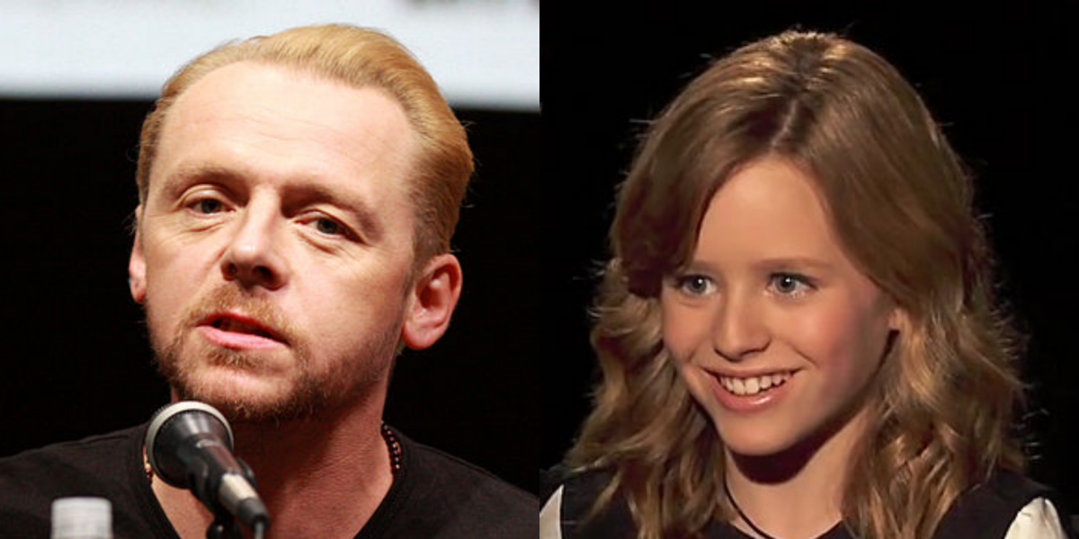 BECKY Shoots This Summer From 'Bushwick' Duo, Casts Simon Pegg And Lulu Wilson