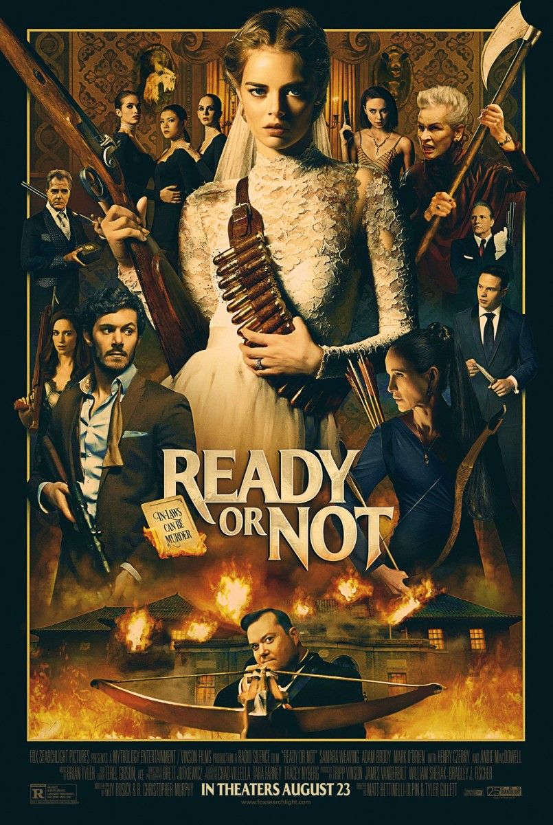 READY OR NOT, Here's A Red-Band Trailer Welcoming Samara Weaving Into The Family