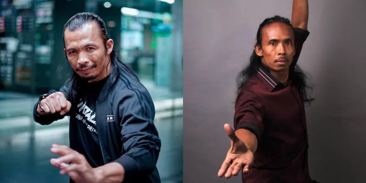 Maria 2 casts Cecep Arif Rahman and Yayan Ruhian
