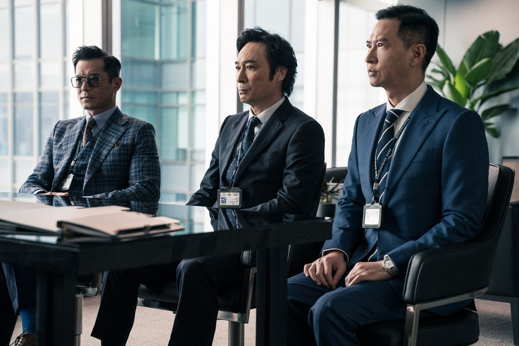 Line Walker 2: Invisible Spy (Louis Koo, Francis Ng, and Nick Cheung)