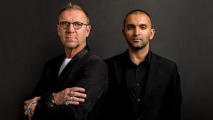 Renny Harlin and Daljit DJ Parmar