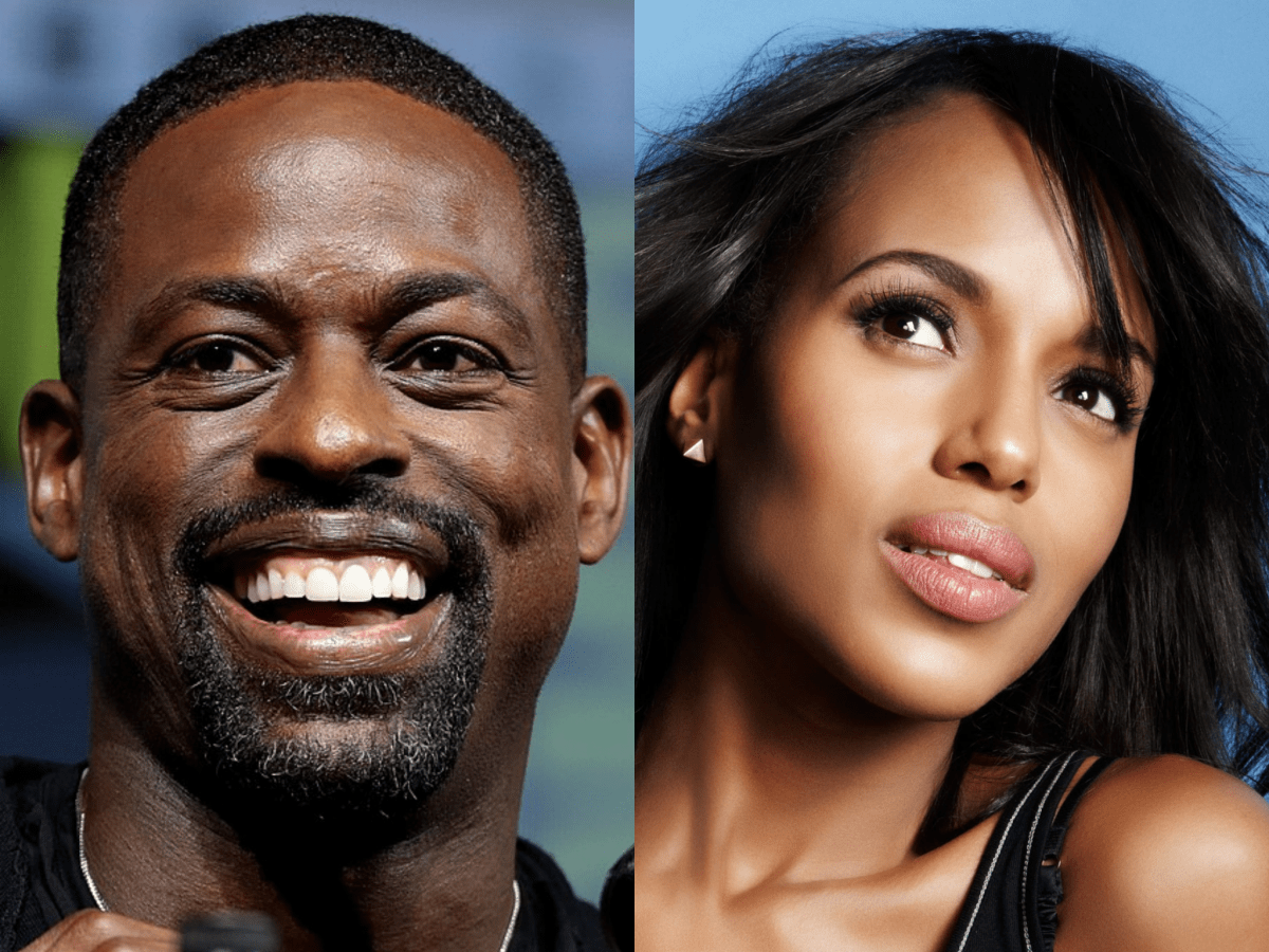 Sterling K. Brown and Kerry Washington
