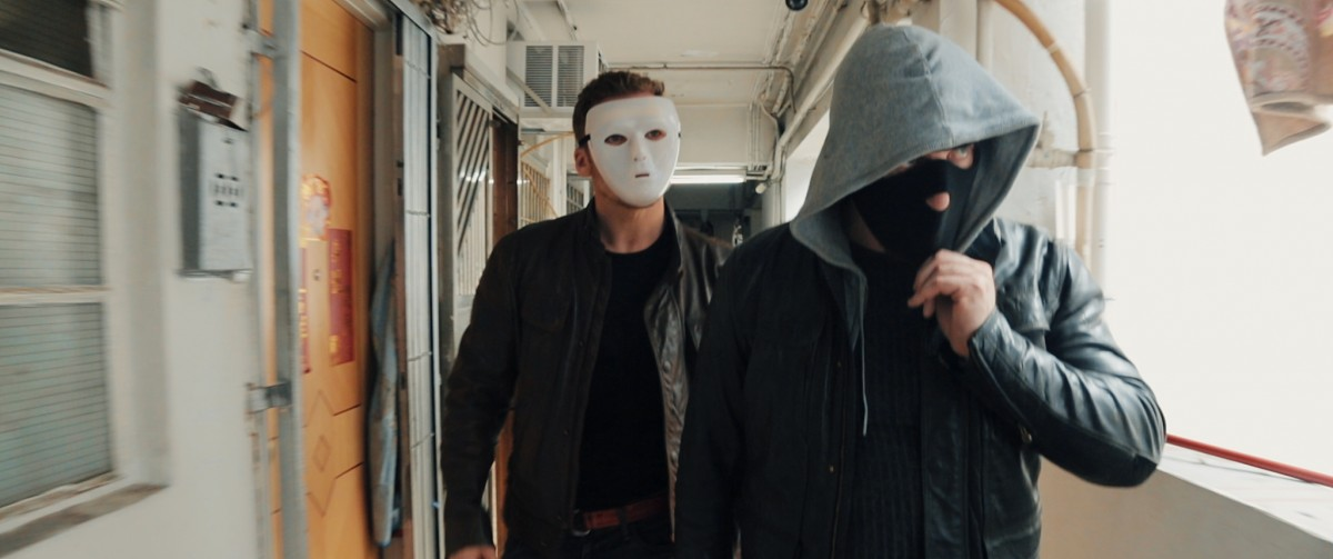 Julian Gaertner and Bryan Larkin in DEAD END II: A JUSTIFIED KILL