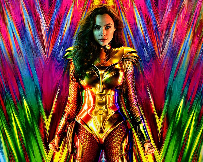 WONDER WOMAN 1984: Gal Gadot Goes Gold In The First Official Trailer