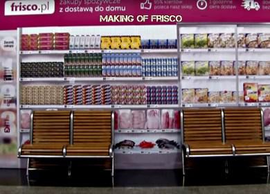Film prezentujący funkcjonowanie sklepu Frisco.pl