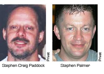 Stephen Paddock, Keith Palmer