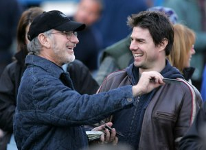 Steven Spielberg and Tom Cruise - Photo by James Devaney