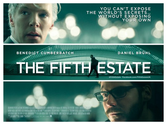Film Doctor The Fifth Estate UK Poster
