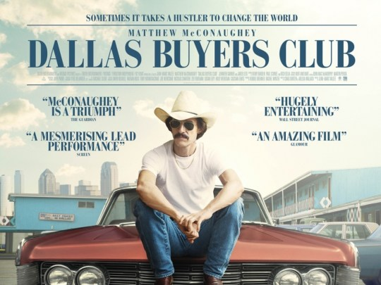 Film Doctor Dallas Buyers Club movie poster