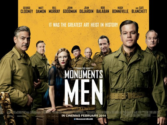 Film Doctor The Monuments Men UK Poster