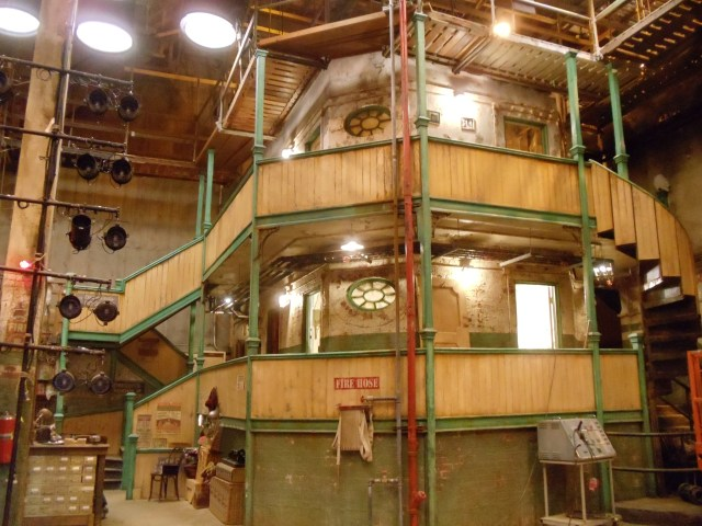 THE MUPPETS - Unfinished backstage set mid-dress